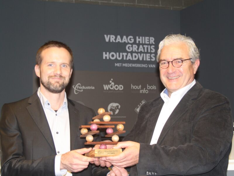 Nieuw houtbouwsysteem wint HOUTEN KOP 2015