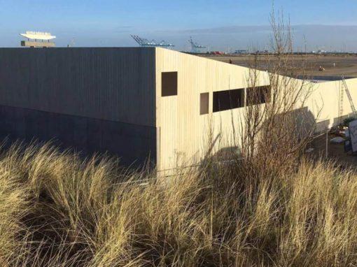 Ontwerp door architect A154(Gent) – Surfclub Icarus Zeebrugge