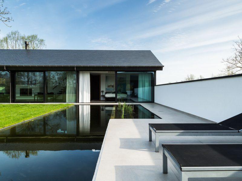 Loftvilla in neomoderne stijl