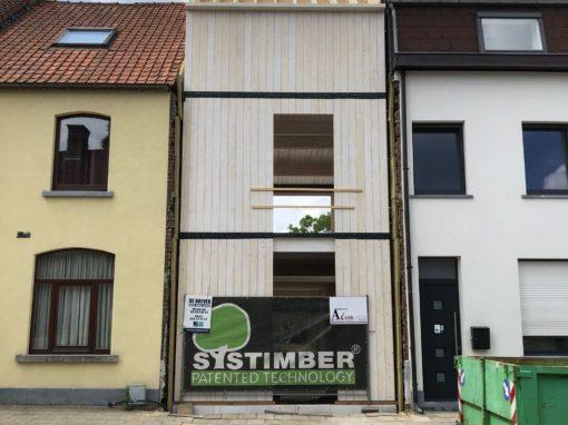 Opbouw fotostudio in Aalst