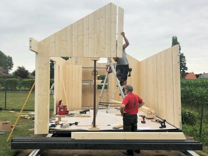 Zelf je houten manvace bouwen? Systimber maakt het mogelijk!