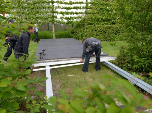 Funderen zonder beton? Snel en duurzaam met een schroeffundering