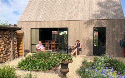 Vakantiewoning in eigen tuin