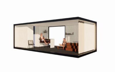 Op vakantie in eigen tuin? Een houten poolhouse maakt het mogelijk.