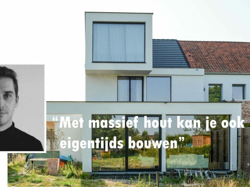 De Architect aan het woord: Gorik Tanghe