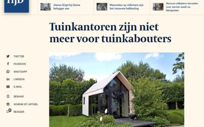 Systimber in het nieuws: Vraag je baas een tuinkantoor in plaats van een bedrijfswagen