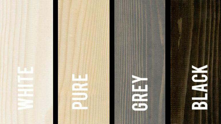 Systimber houtbouw systeem: kleuren massief hout voor skeletbouw