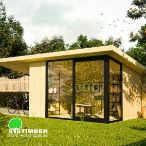 Tuinatelier & tuinberging Leen door Systimber