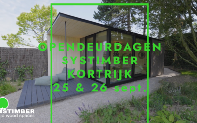Opening Systimber Kortrijk op 25 en 26 september